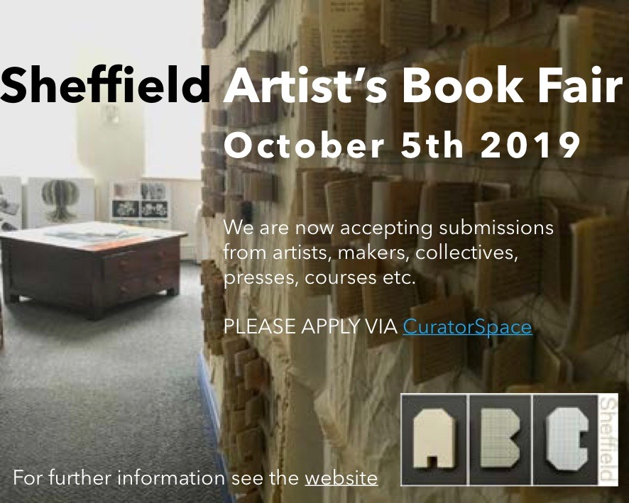 Artists Book Fair – Deadline Extended